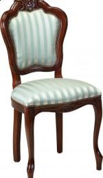 Tapicerowane krzesło stylowe A-1005-V