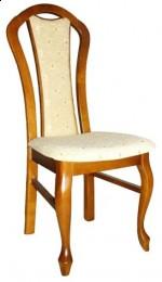 Tapicerowane krzesło stylowe A-7-V