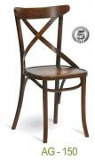 Krzesło gięte AG-150-P typu crosback