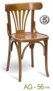 Krzesło gięte AG-56 do restauracji z krzesła Warszawa
