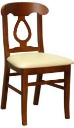 Drewniane krzesło stylowe AL-105