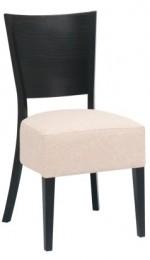 Tapicerowane krzesło drewniane AT-3817