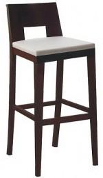 Drewniany hoker barowy kuchenny BST-0805