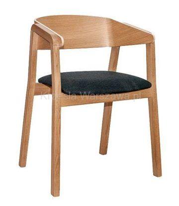 Nowoczesny fotel dębowy Cava BS Krzesła Warszawa Merano styl