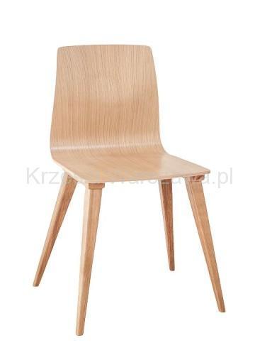 Nowoczesne krzesło dębowe Tras